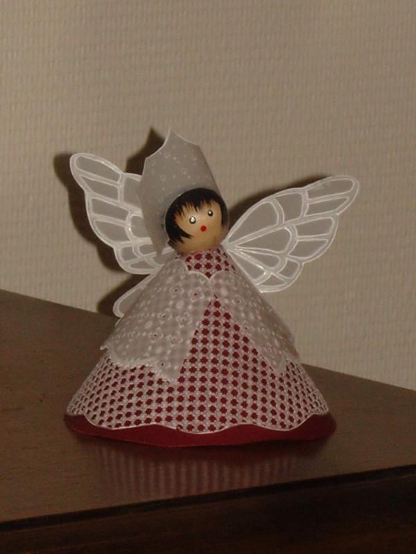 Mes petites dentelles de papier page 2 - Patron ange de noel ...